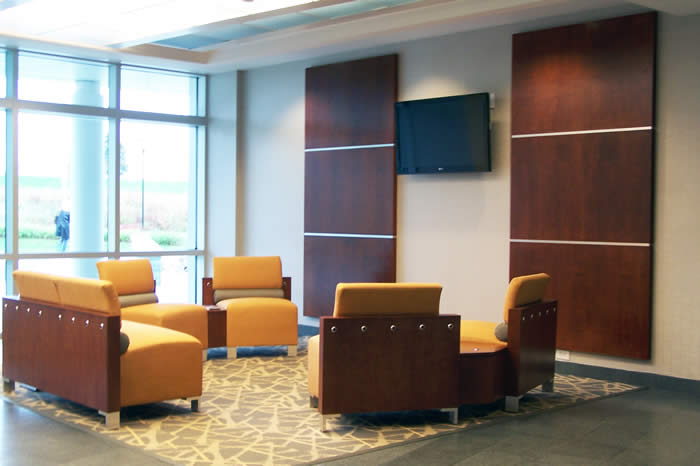 interiors of lobby for UI