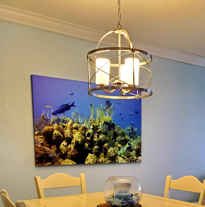 dining area chandelier