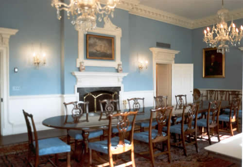 Greek Revival Executive Corporate Dining Room