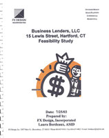 Business Lenders LLC Feasibility Study cover sheet