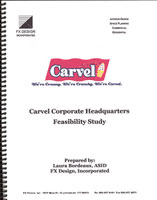 Carvel Corporate Headquarters Feasibility Study cover sheet