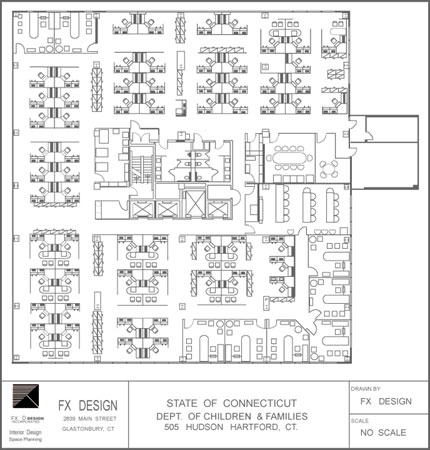 State of Connecticut Dept. of Consumer Protection Multi-Tenant Floor Plan