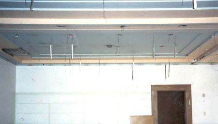 Photograph of the ST of CT Consumer Action Center lobby during renovation