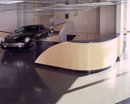 Design  on Fx Design  Inc   Transportation Projects   Monaco Ford Dealer Showroom