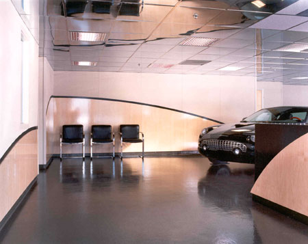 Monaco Ford Dealer Showroom Renovations