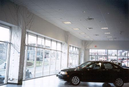 fx design inc central connecticut volvo dealership showroom. Black Bedroom Furniture Sets. Home Design Ideas